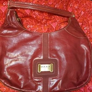 Maxx New York Signature red bag